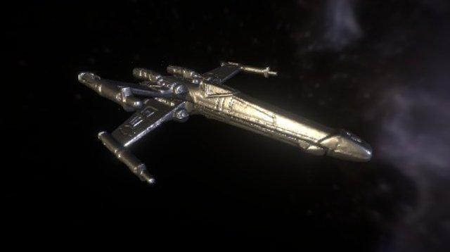 MicroCT - Starwars Fighter Scan 3D Model