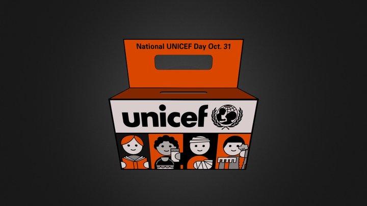 UNICEF: Donation Box 3D Model