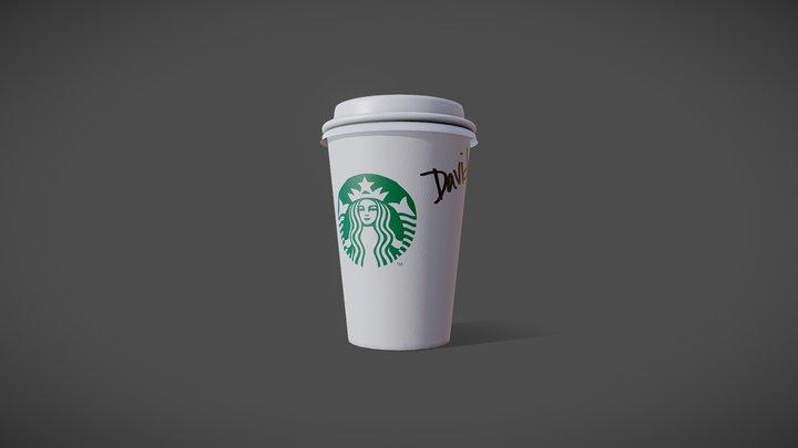 Starbucks Cup - Photo 3D Model