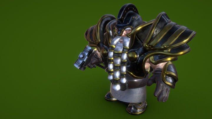 Veteran Dwarf 3D Model