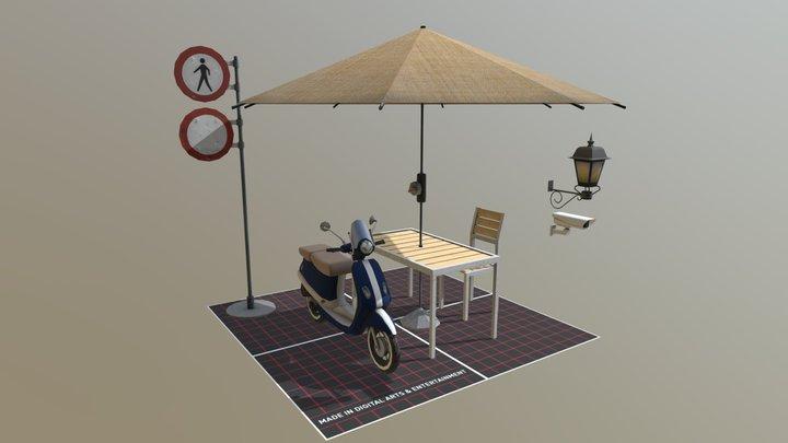 Simple Props 3D Model