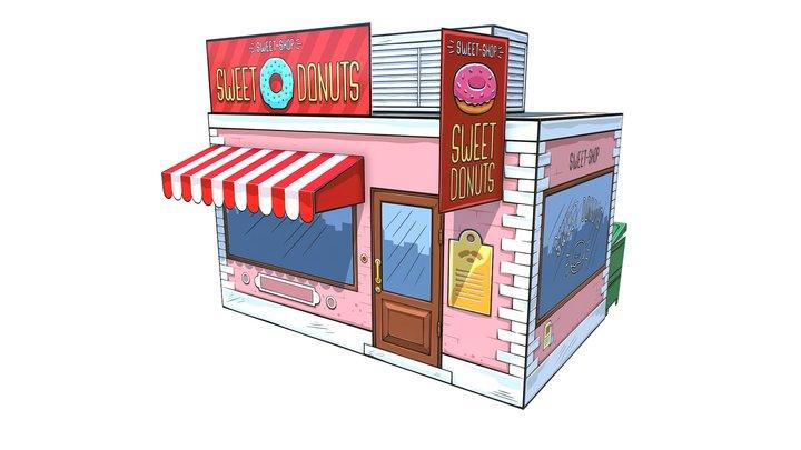 Sweetshop 3D Model