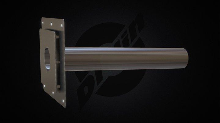 DP Plus SS DN70 Tubular 3D Model