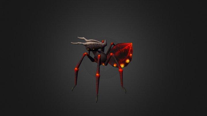 Spider Queen 3D Model
