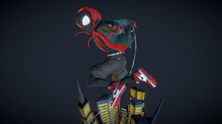 Miles Morales 3D Model