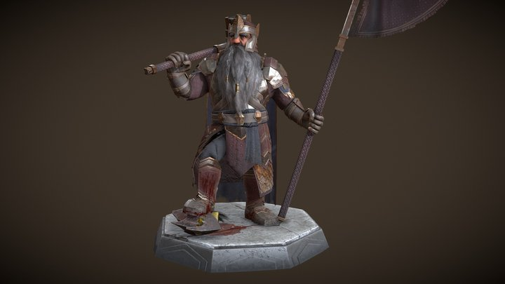 Durin the Deathless 3D Model