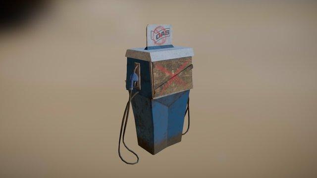 GasPump 3D Model