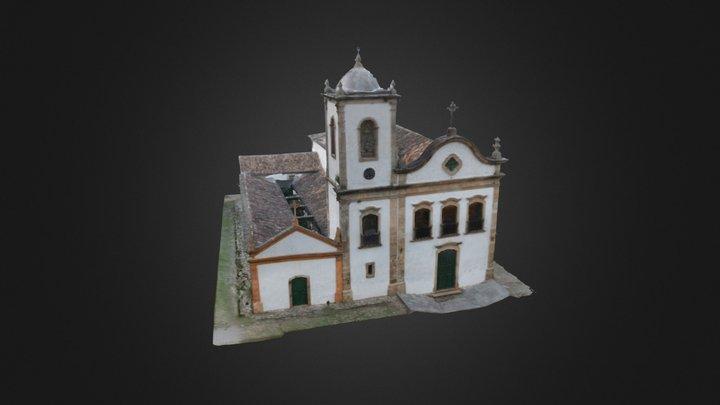Igreja De Santa Rita 3D Model