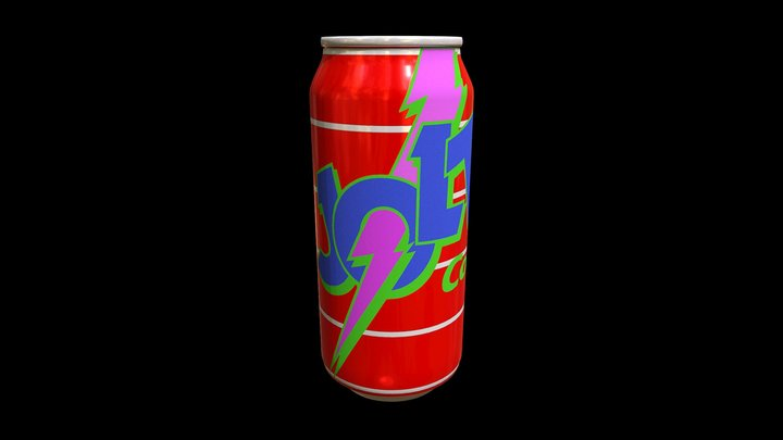 Jolt Cola 3D Model