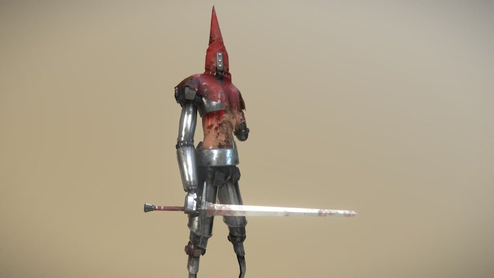 Unhuman - Redguy 3D Model