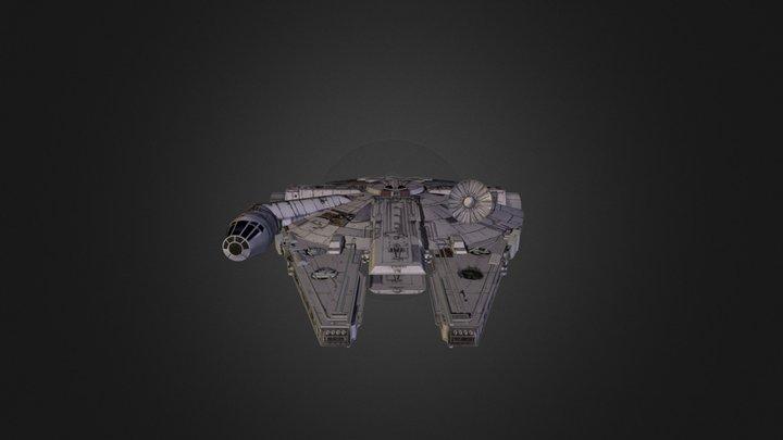 Millenium Falcon 3D Model