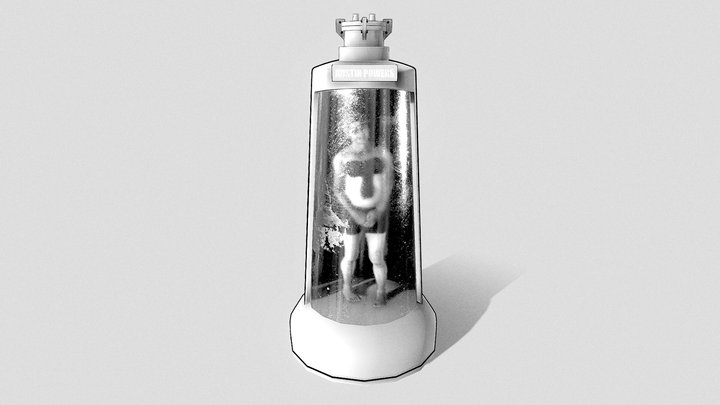 3D Inktober 04: Freeze 3D Model