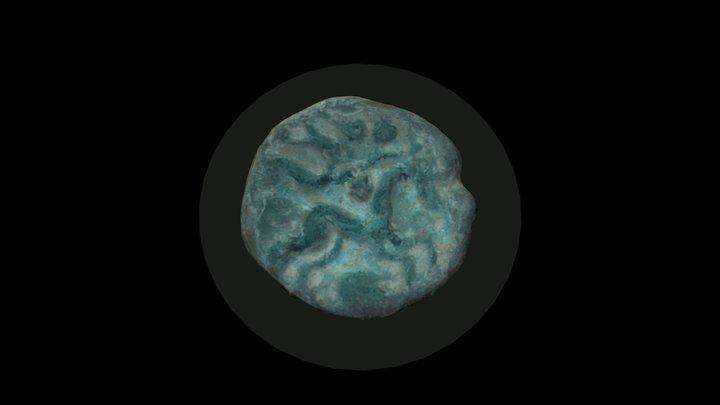 Monnaie Celte Ambiani / Ambiani Celtic coin 3D Model