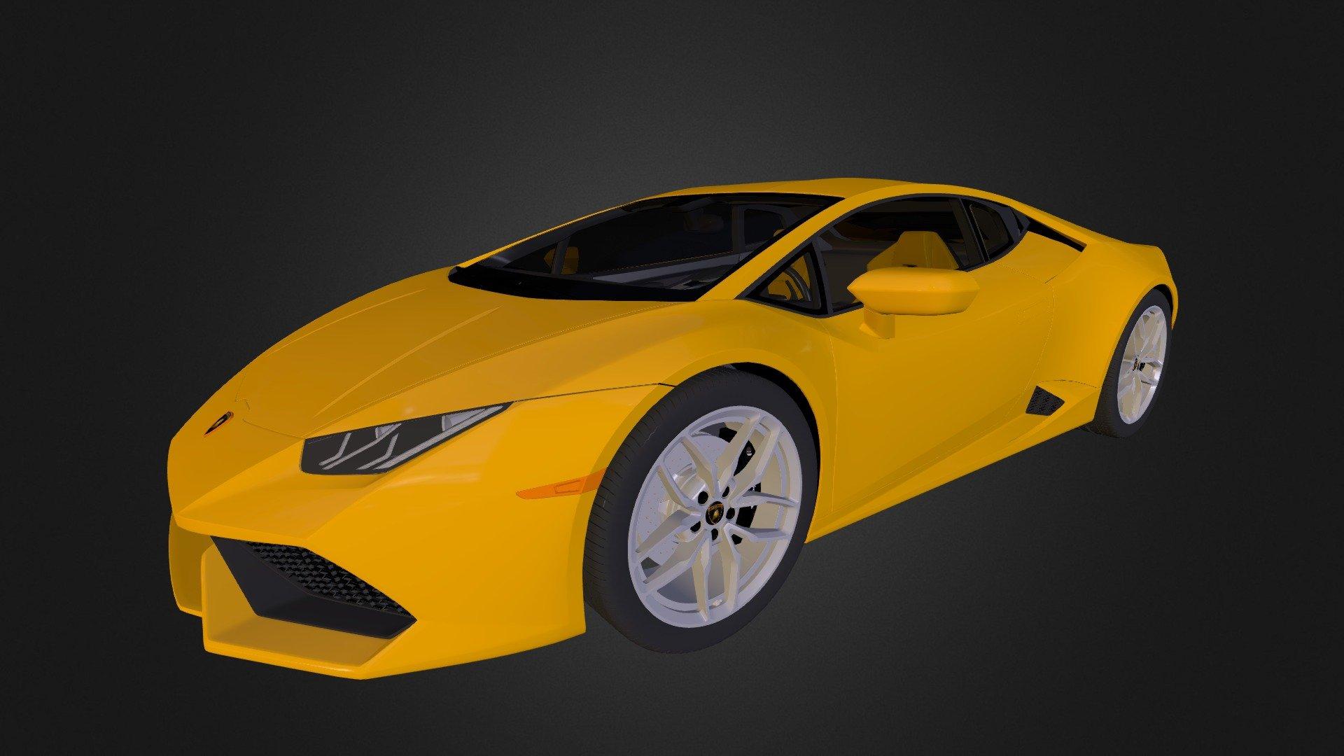 Lamborghini Huracan 3d Model By Romhook Romhook 45a8ed5 Sketchfab