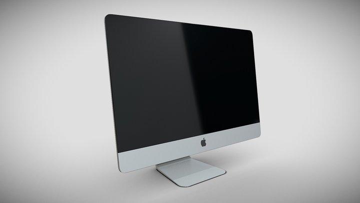 iMac 3D Model