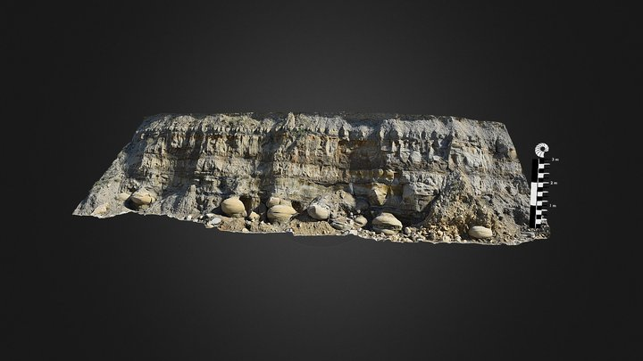 Osmington Mills 2, Dorset 3D Model