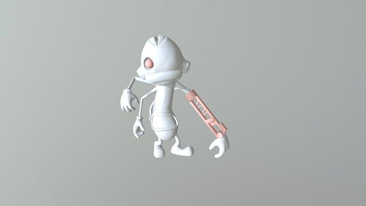 Striker 3D Model