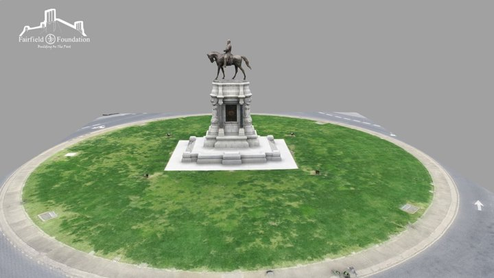 Robert E. Lee Monument 3D Model