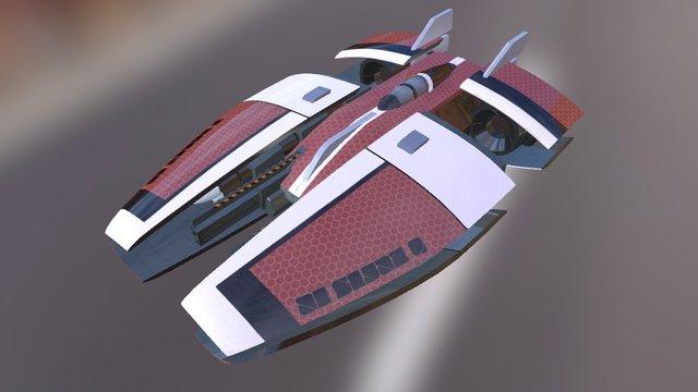 SM Racer01 3D Model