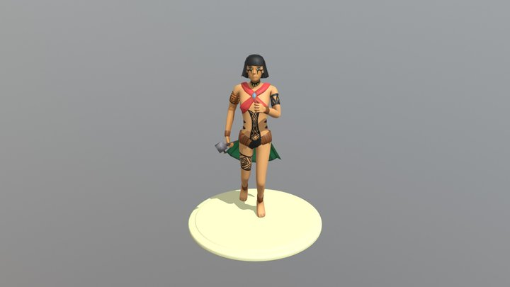 Niara Modelagem 3D Model