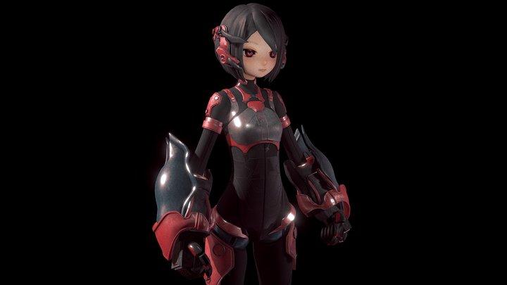 ZEN (T-01) 3D Model
