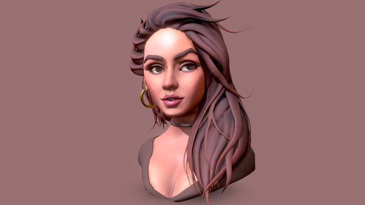 Clara 3D Model