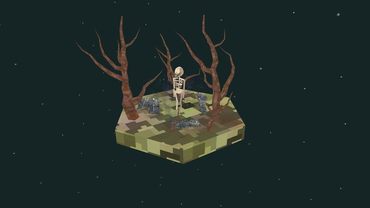 Spooky 3D Model