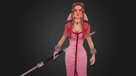 Aeris Gainsborough 3D Model