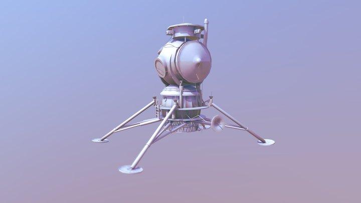 Moon_lander 3D Model