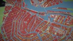 Openstreetmap Amsterdam 3D Model