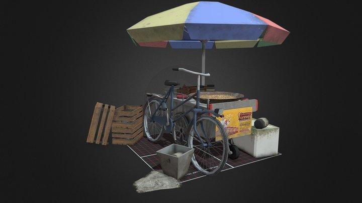 5props  Qweek  Karolinka Fierloos 1DAE02 3D Model