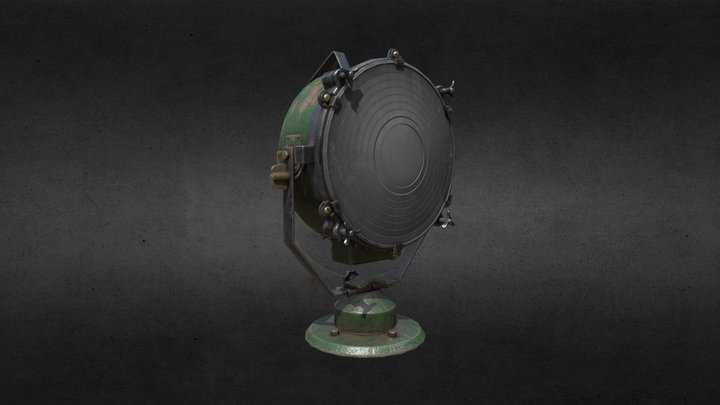 Searchlight 3D Model