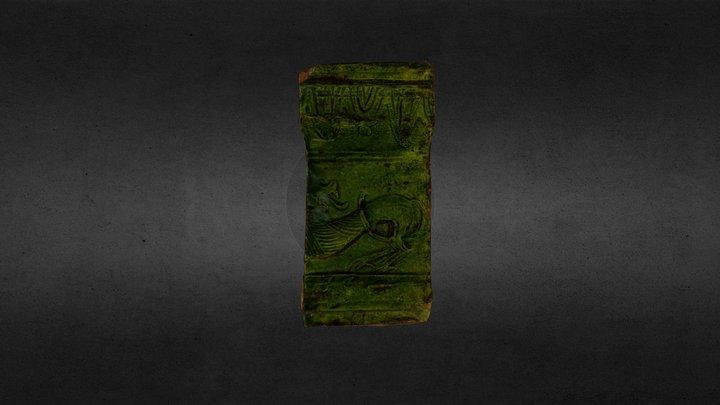 Stove tile   Кахля 3D Model