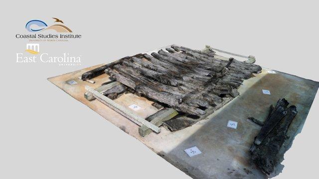 Corolla Wreck -- all main timbers (26 Feb 2016) 3D Model