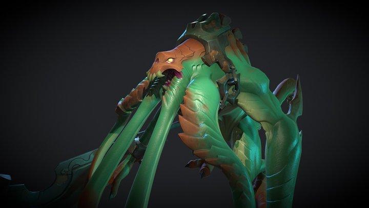 Sea Lurker 3D Model