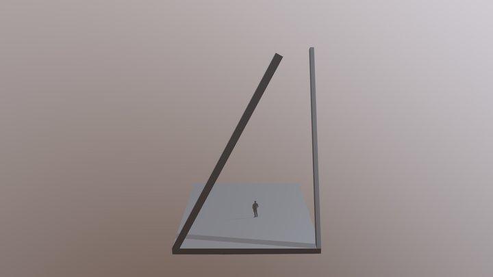 Wegweiser 3D Model