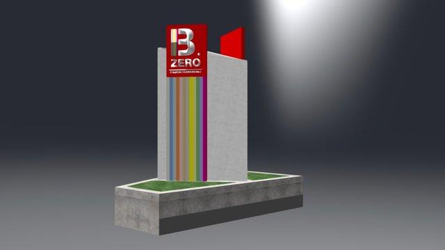 077_Bzero_Totem 3D Model