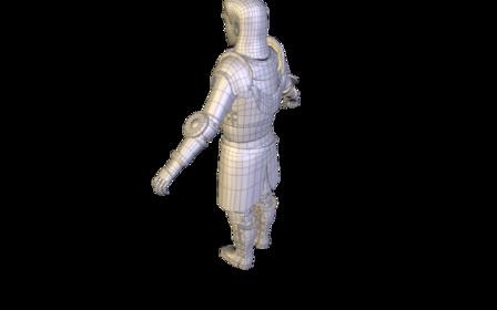 Jeanne d'Arc 3D Model