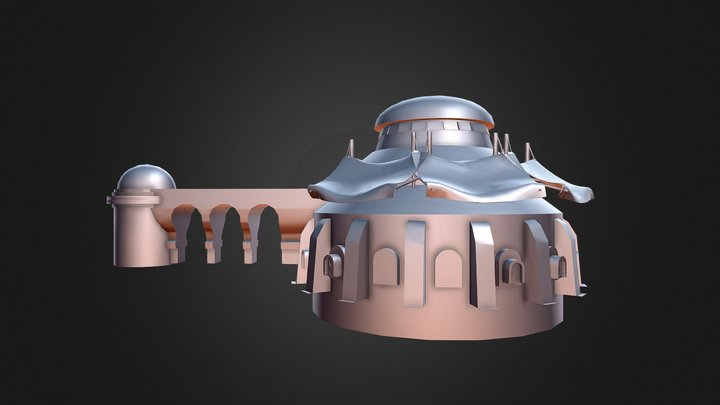 Star Wars: Tatooine Build Prop. 3D Model