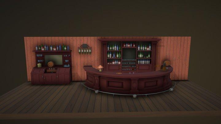 Day 2. Bar 3D Model