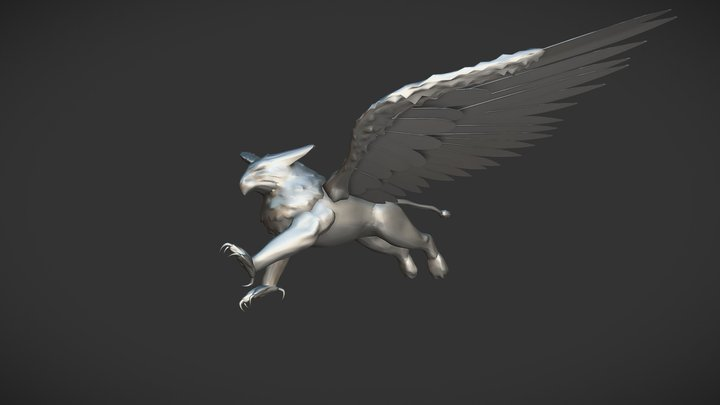 Griffin - Maya 3D Model