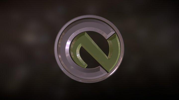 Notbusch Modeling Logo 3D Model