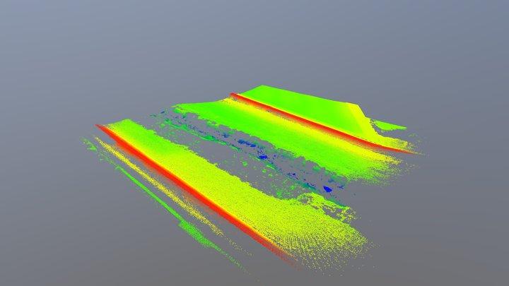 4 - Bagno di Reno (Bo) - Rilievo Lidar con APR 3D Model