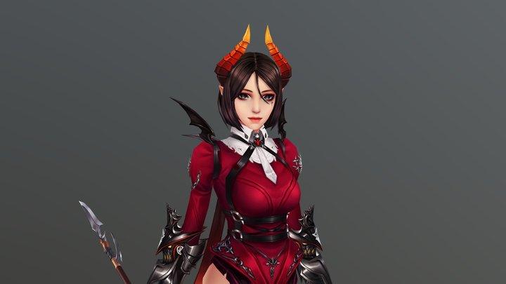 Hit -Lena 3D Model