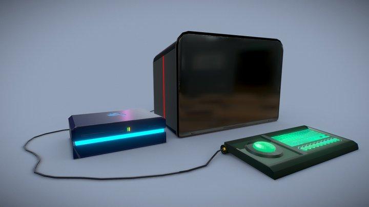 JoyStation 3D Model