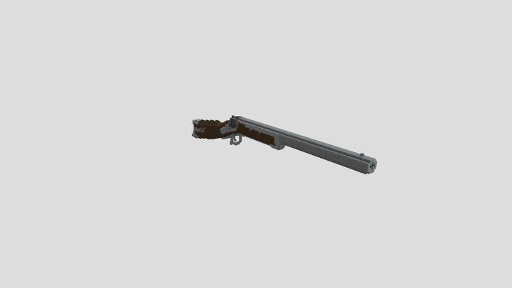 Western Musket -128- 3D Model