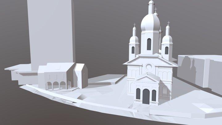 Sf Ilie Pitești II 3D Model