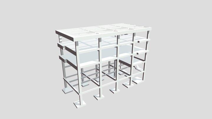 Edificação Triety - Pavimento Cobertura 3D Model