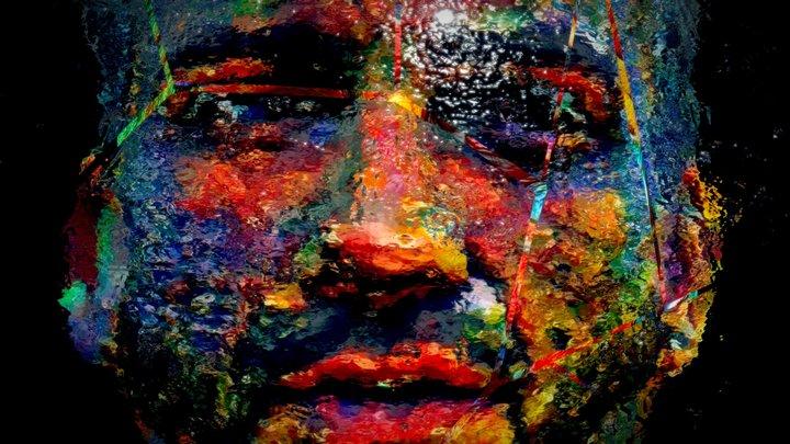 🎨 Fractured Portrait I 3D Model