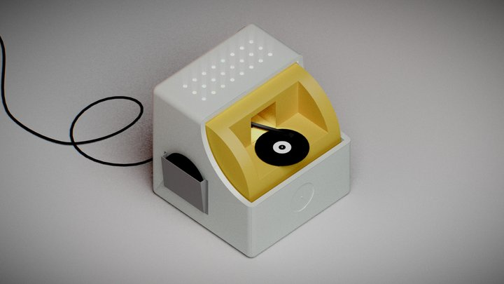 Music Machine 3D Model